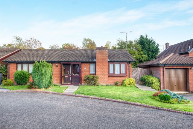 Thumbnail Detached bungalow for sale in Eldersfield Close, Church Hill North, Redditch