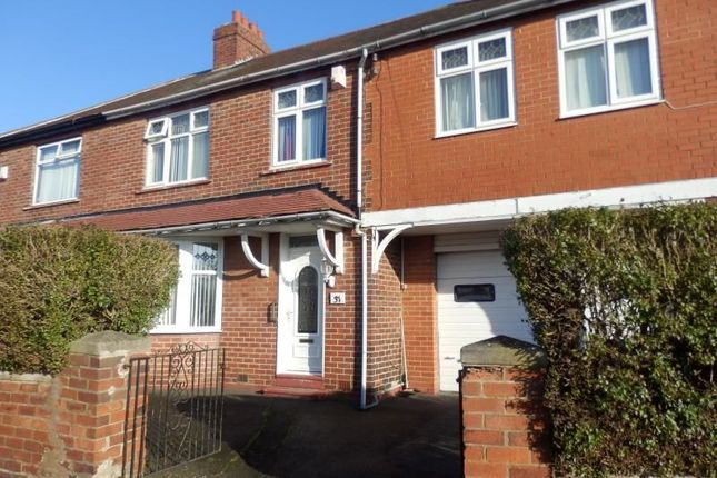 Thumbnail Semi-detached house for sale in Western Avenue, Grainger Park, Newcastle Upon Tyne