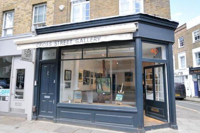 Thumbnail Retail premises to let in 40, Cross Street, Islington