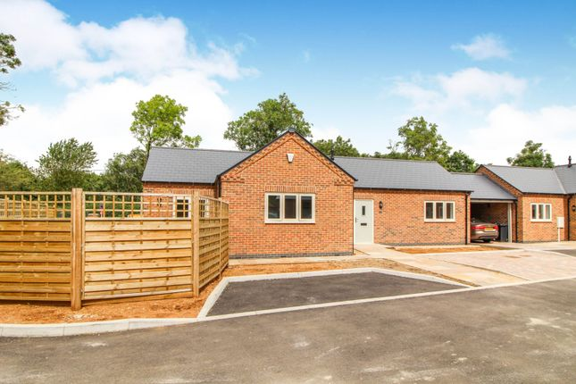 Thumbnail Detached bungalow for sale in Stathern Lane, Harby, Melton Mowbray