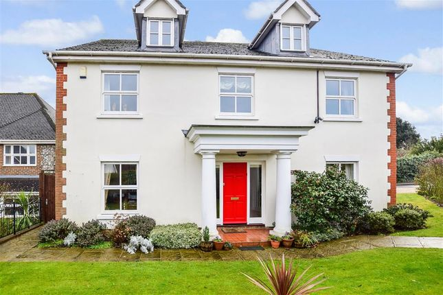 Thumbnail Detached house for sale in Hotham Close, Swanley Village, Kent