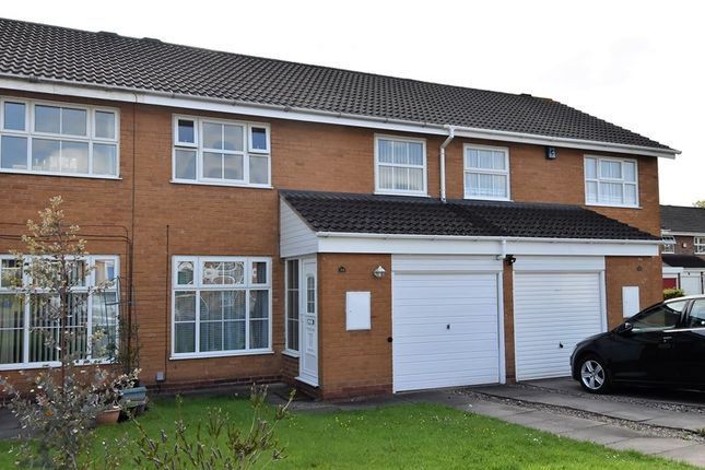 Thumbnail Town house for sale in Berberry Close, Bournville, Birmingham