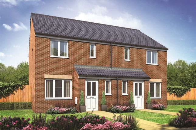 """Thumbnail Semi-detached house for sale in """"The Hanbury"""" at Redhouse Lane, Disley"""