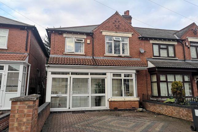 Thumbnail Semi-detached house for sale in Daniels Road, Bordesley Green, Birmingham