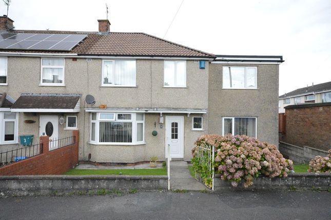 Thumbnail End terrace house for sale in Ludlow Close, Keynsham