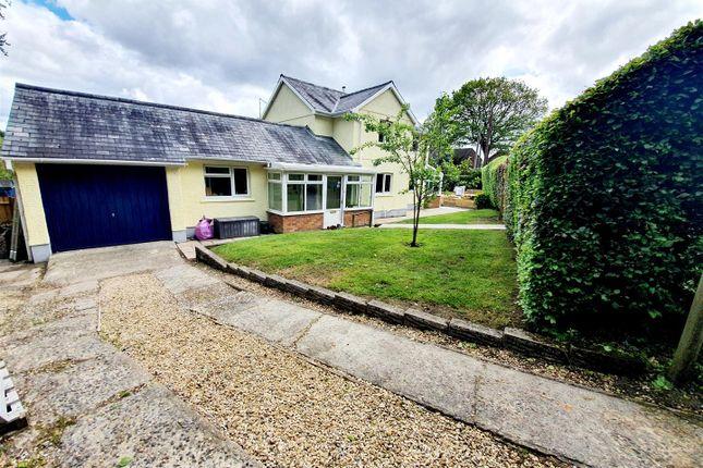 Thumbnail Detached house for sale in Llangyfelach Road, Penllergaer, Swansea