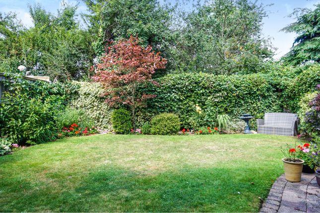 Rear Garden of Brooklands, Wickford SS12