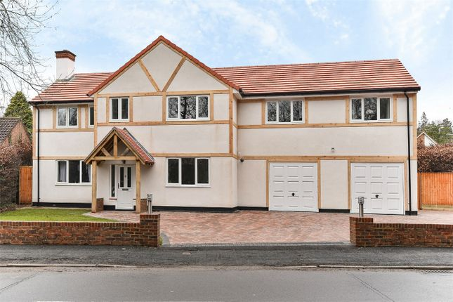 Thumbnail Detached house for sale in Lime Avenue, Camberley, Surrey