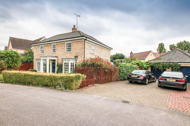 Thumbnail Detached house for sale in Langenhoe Park, Langenhoe, Colchester