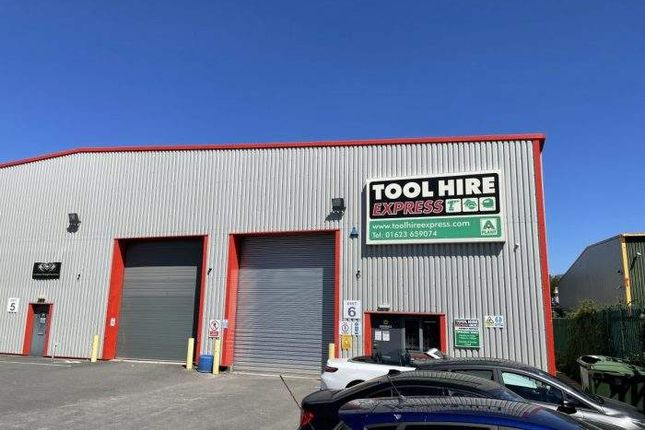 Thumbnail Light industrial to let in Unit 6, Abbey Trade Park, Hermitage Lane, Mansfield, Nottinghamshire