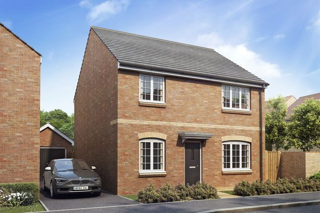 "Thumbnail Detached house for sale in ""The Knightsbridge"" at Maes Dewi Pritchard, Bridgend"