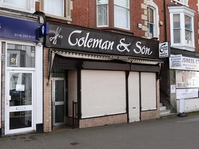 Thumbnail Retail premises to let in 89 London Road, Leicester