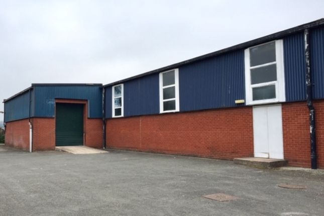 Thumbnail Industrial to let in Mile Oak Industrial Estate, Maesbury Road, Oswestry