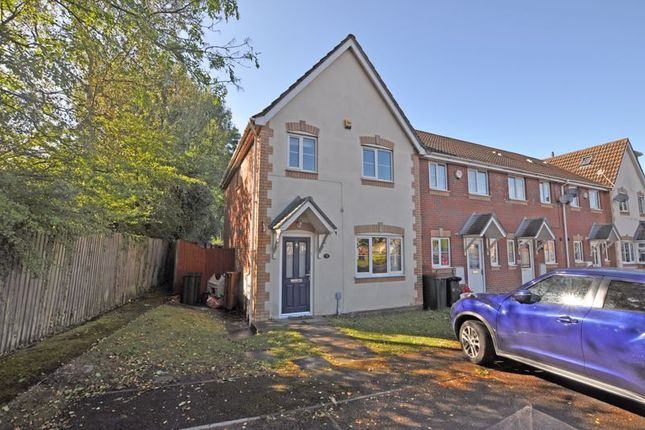 Thumbnail Terraced house to rent in Modern End-Terrace, Hollyhock Close, Rogerstone