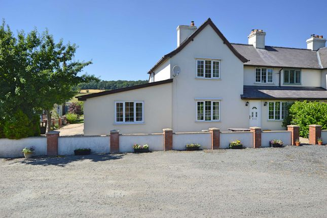 Thumbnail Semi-detached house for sale in Abermule, Montgomery, Powys