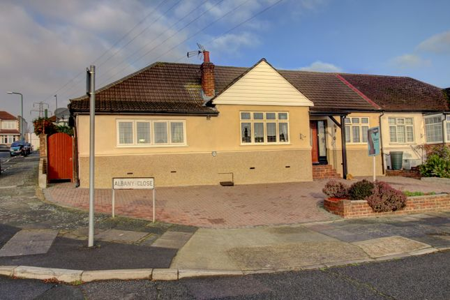 Thumbnail Bungalow for sale in Albany Close, Bexley