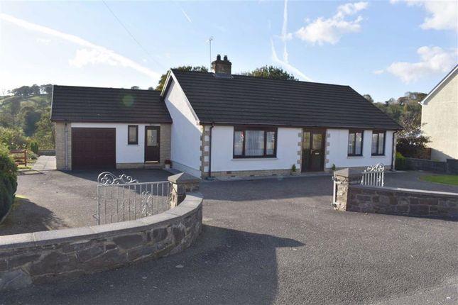 Thumbnail Detached bungalow for sale in Pontshaen, Llandysul