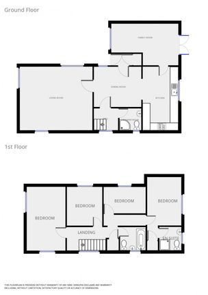 Floor Plan of Charles Close, Acle NR13