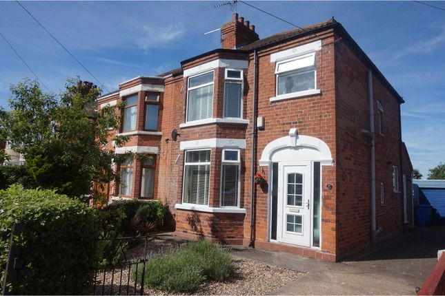 Thumbnail Semi-detached house for sale in Golf Links Road, Hull