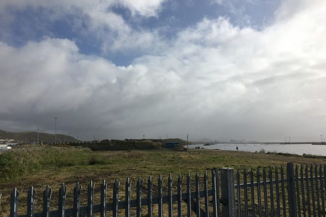 Thumbnail Land to let in Site 12, Port Of Swansea