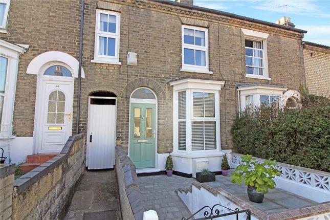Thumbnail Terraced house for sale in Wellington Road, Norwich