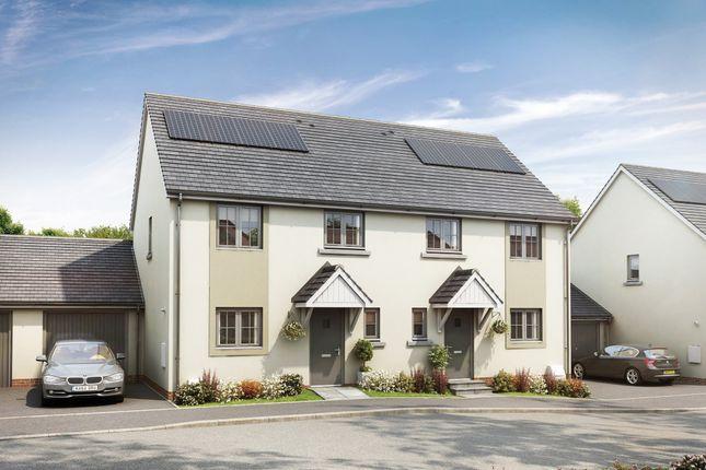 Thumbnail Semi-detached house for sale in Cornwood Chase, Cornwood Road, Ivybridge