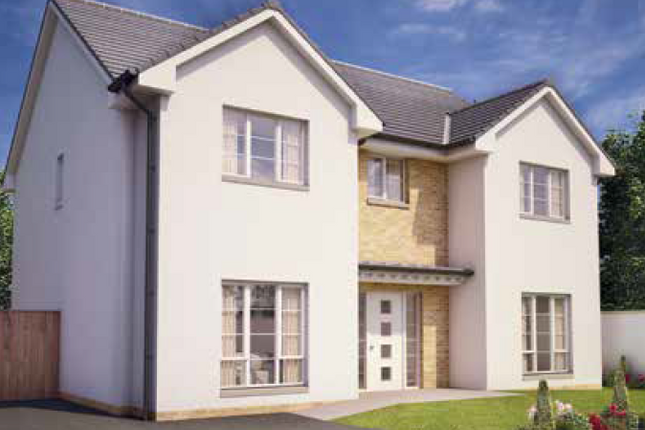 Thumbnail Detached house for sale in The Deveron, Middleton Road, Perceton, Irvine, North Ayrshire