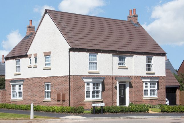 "Thumbnail Detached house for sale in ""Henley"" at Wright Close, Whetstone, Leicester"