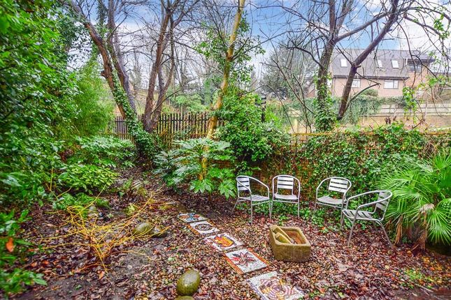 Side Garden of Talbot Terrace, Lewes, East Sussex BN7