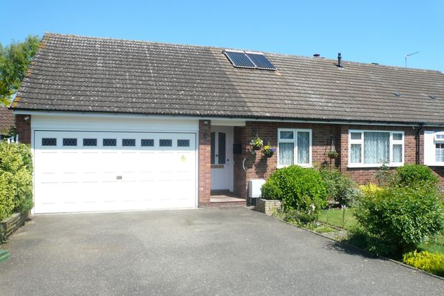 Thumbnail Bungalow for sale in Arundel Close, Cheshunt