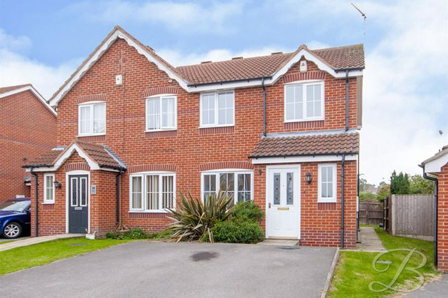 3 bed semi-detached house to rent in Nelson Close, Mansfield NG19