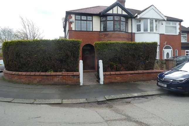 Thumbnail Semi-detached house for sale in Northleigh Road, Firswood, Manchester.
