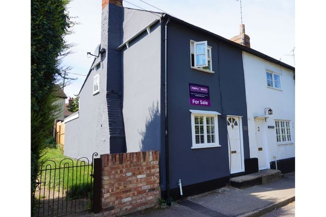 Thumbnail End terrace house for sale in Carmen Street, Great Chesterford, Saffron Walden