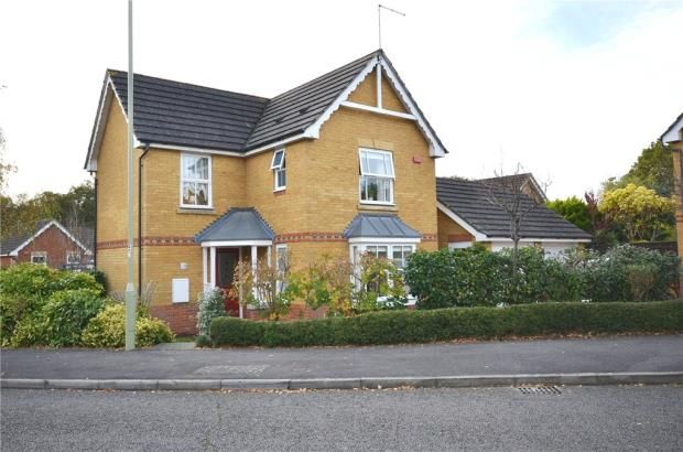 Thumbnail Detached house for sale in Brandon Road, Church Crookham, Hampshire