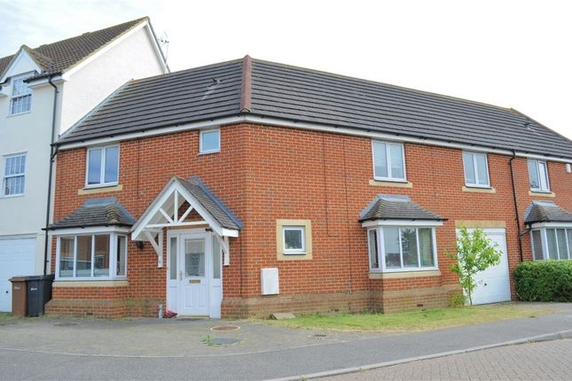 Thumbnail Terraced house for sale in Goodwin Close, Chelmsford, Essex