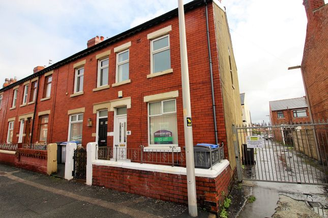 Thumbnail End terrace house to rent in Cunliffe Road, Blackpool, Lancashire