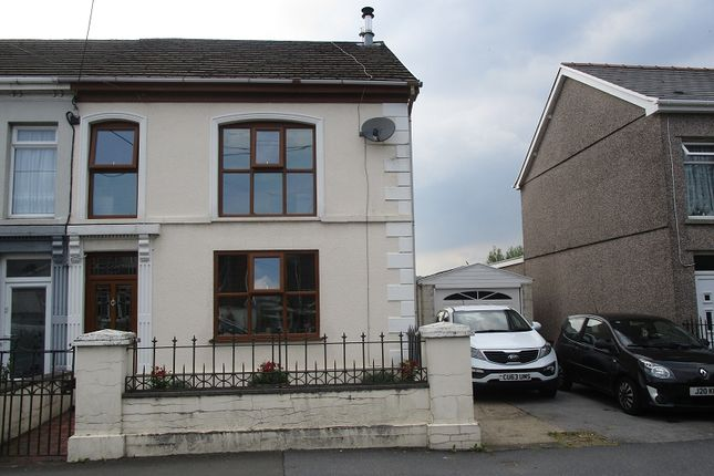Thumbnail Semi-detached house for sale in Brecon Road, Ystradgynlais, Swansea.