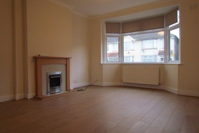 Thumbnail Terraced bungalow to rent in Wadeville Avenue, Chadwell Heath, Romford
