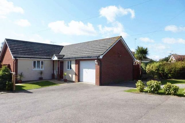 Thumbnail Detached bungalow for sale in St. Christopher Close, Caister-On-Sea, Great Yarmouth