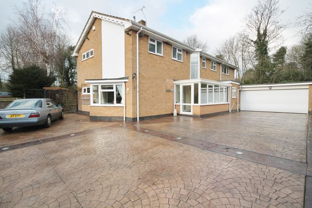 Thumbnail Detached house for sale in Carisbrooke Avenue, South Knighton, Leicester