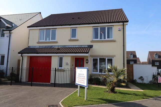 Thumbnail Detached house for sale in Mead Park, Bickington, Barnstaple