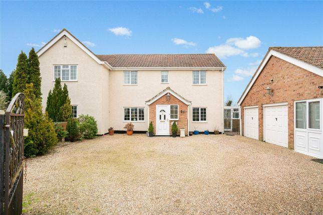 Thumbnail Detached house for sale in Lower Road, Westerfield, Ipswich