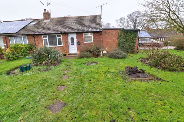 Thumbnail Bungalow for sale in Willow Close, Reed, Royston