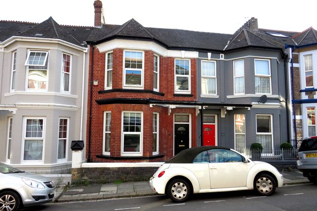 Thumbnail Terraced house for sale in Hillside Avenue, Mutley, Plymouth
