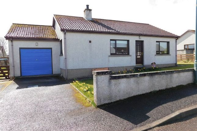 Thumbnail Detached bungalow for sale in Grant Avenue, Thurso, Caithness