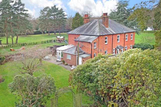 Thumbnail Detached house for sale in Gole Road, Pirbright, Woking