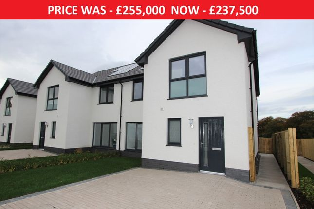 Thumbnail 3 bed semi-detached house for sale in Plot 67, The Dawson, Ness Castle