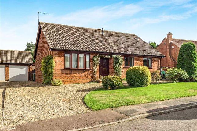 Thumbnail Detached bungalow for sale in Wathen Way, Marsham, Norwich