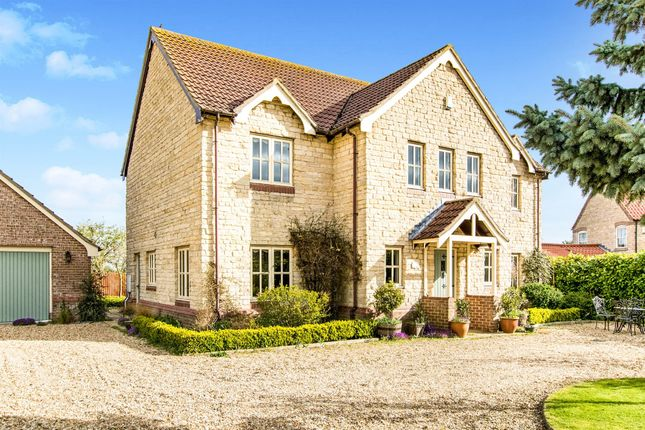 Thumbnail Detached house for sale in The Nurseries, Rowston, Lincoln