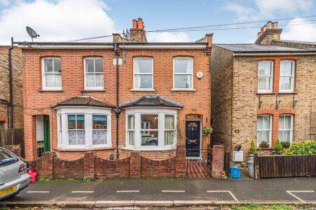 Semi-detached house for sale in Lindum Road, Teddington